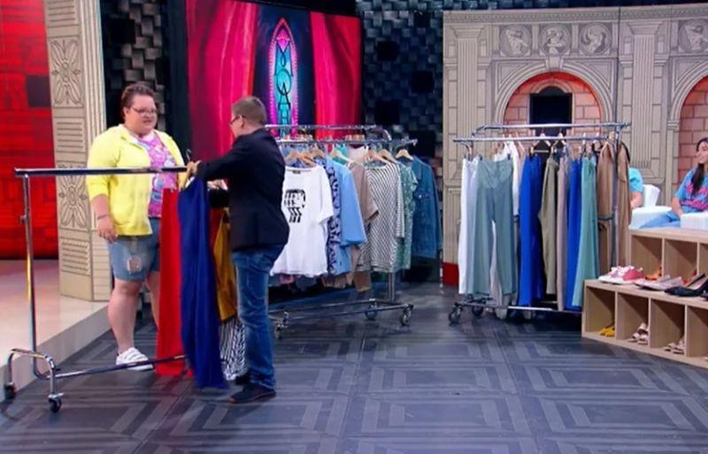Иван подбирает наряды