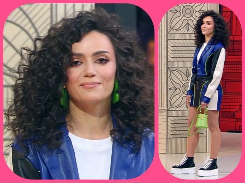 Впервые на «Модном приговоре» подчеркнули шикарную фигуру героини, а из волос сделали целую копну