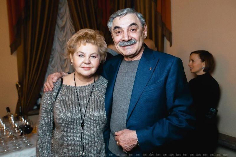 Александр Панкратов-Черный со своей женой Юлией Мохановой