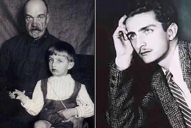 Игорь Дмитриев (слева с дедом). Источник: yandex.ru