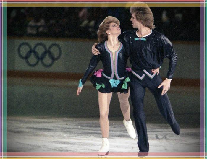 На Олимпийских играх.